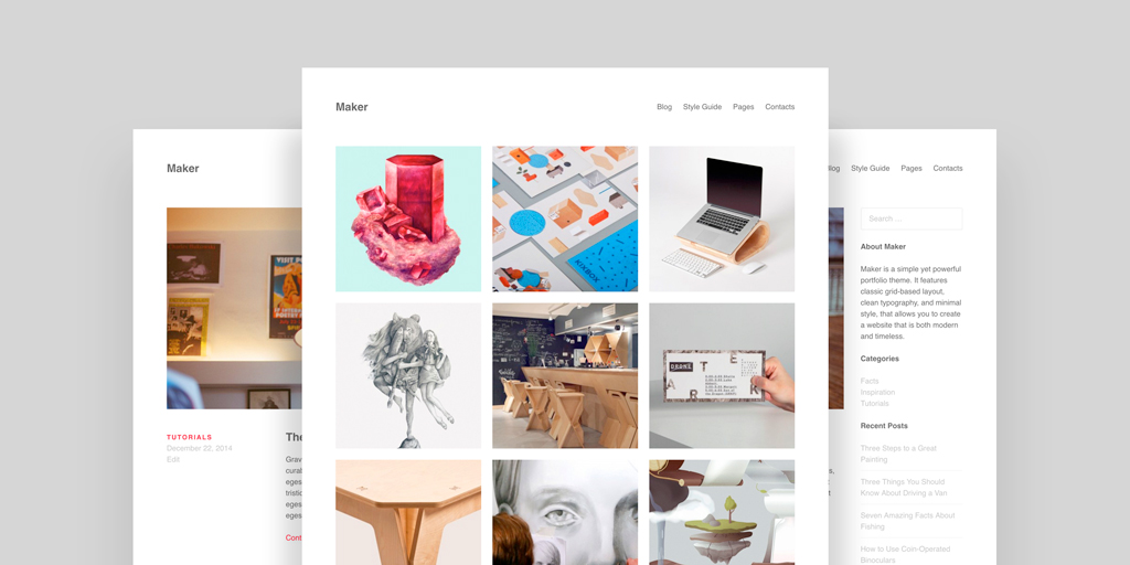 Maker - ThemePatio