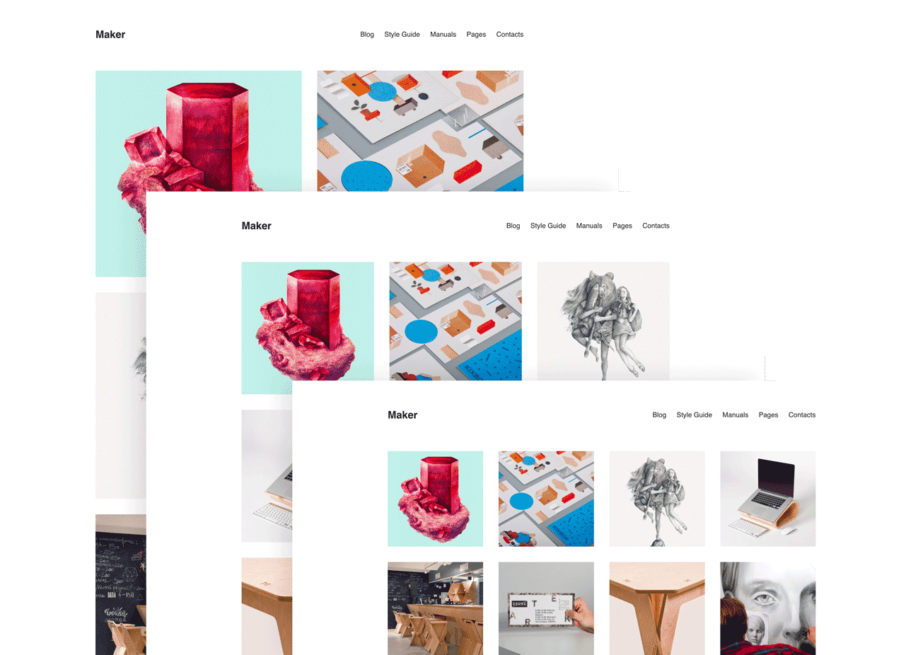 Maker – Portfolio Theme for WordPress