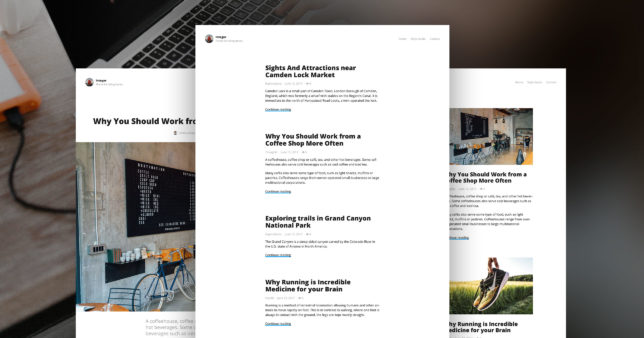 Meet Integer, a Brand New Blogging Theme