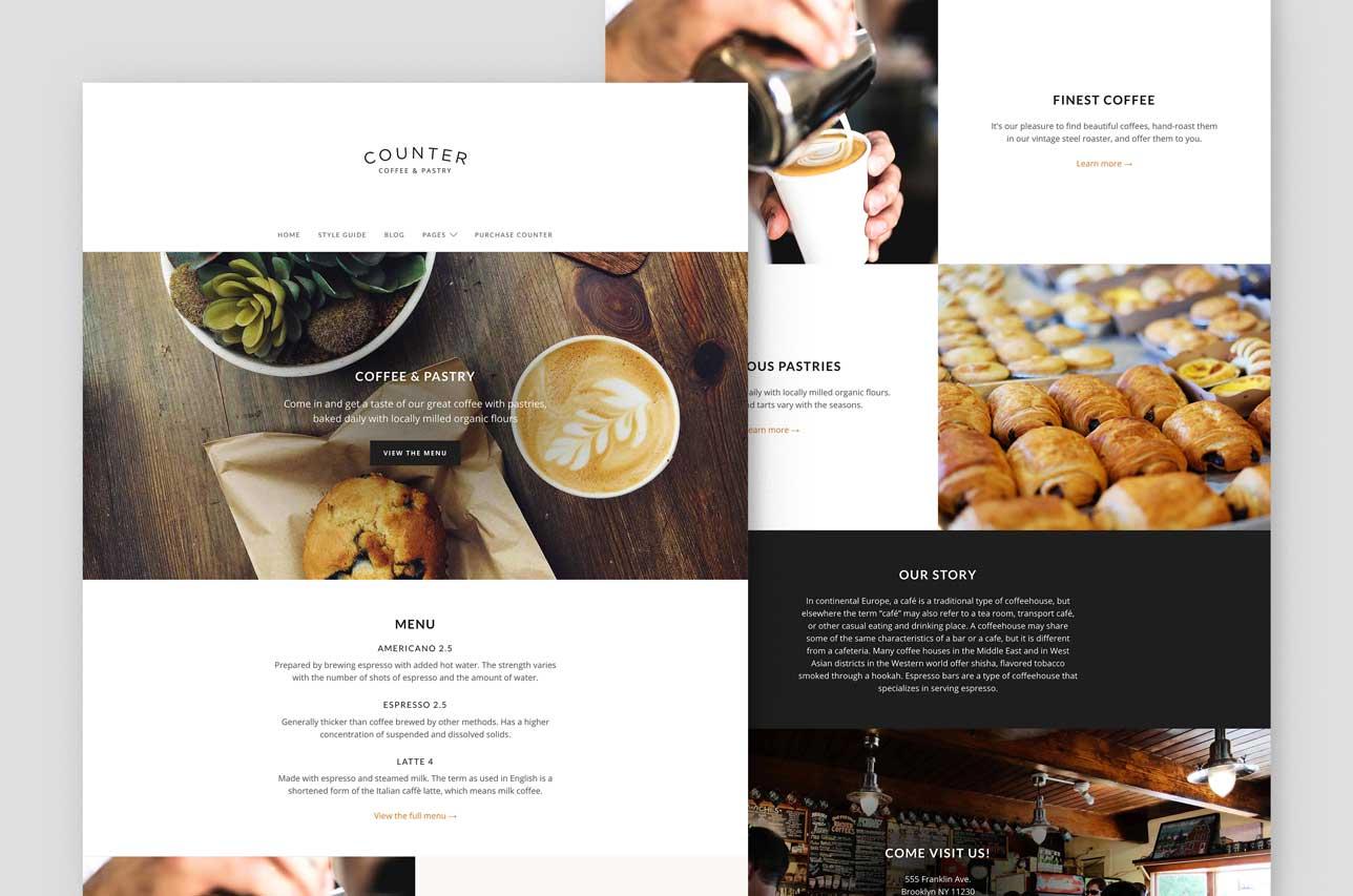 Counter – Minimal Business Theme for WordPress